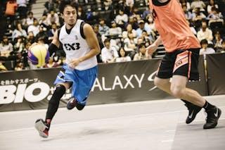 #3 Romeo Terrence Bill, Team Manila West, FIBA 3x3 World Tour Final Tokyo 2014, 11-12 October.