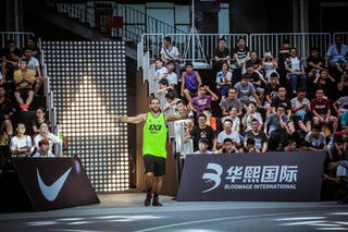 5 Tanious Serhan (LIB) - Beirut v Jinan, 2016 WT Beijing, Pool, 16 September 2016