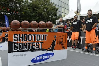 Samsung shoot out contest 2013 FIBA 3x3 World Tour Masters in Prague