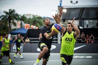 #7 Rodriguez Carlos, Team La Guaira, FIBA 3x3 World Tour Rio de Janeiro 2014, Day 2, 28. September.