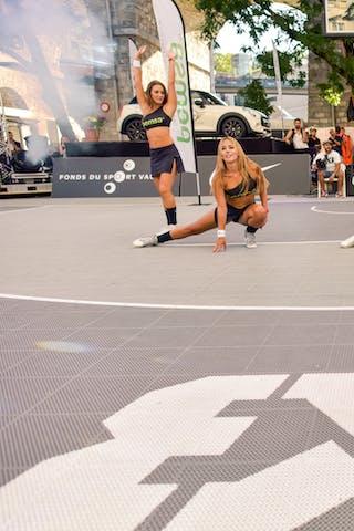 Cheerleaders, 2015 WT Lausanne, Pool, 28 August 2015