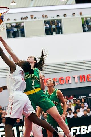 7 Keely Froling (AUS) - 3 Stephanie Mawuli (JPN) - Game1_Pool B_Japan vs Australia