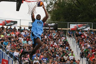 5 Jelane Pryce (CAN) - Slam dunk event at FIBA 3x3 Saskatoon 2017