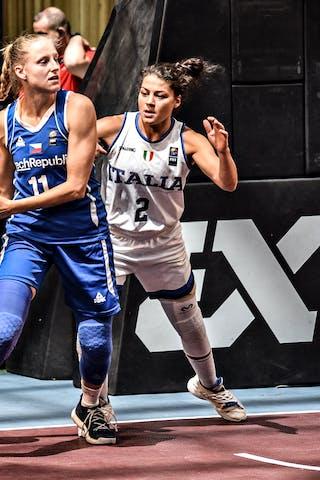 2 Raelin D'alie (ITA) - 11 Kristýna Minarovičová (CZE)