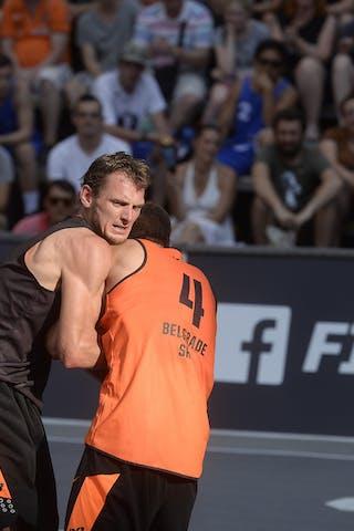 Belgrade v Amsterdam, 2015 WT Prague, Pool, 8 August 2015