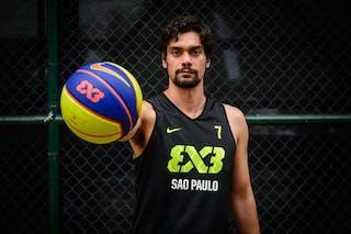 #7 Cardozo Marcio, Team Sao Paulo, FIBA 3x3 World Tour Rio de Janeiro 2014, 27-28 September.