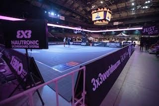 Court view, FIBA 3x3 World Tour Tokyo Final 2014, 11-12 October.