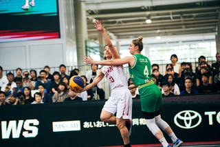4 Bec Cole (AUS) - 30 Mio Shinozaki (JPN) - Game1_Pool B_Japan vs Australia