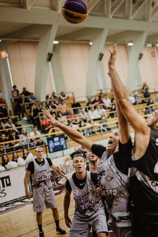 4 Nikola Vukovic (SRB) - 3 Edgars Krumins (LAT) - 2 Karlis Lasmanis (LAT)