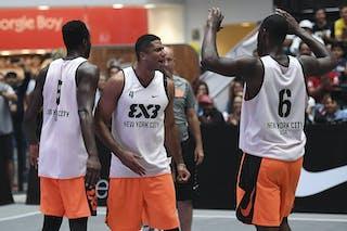 4 Ro Parra-Grady (USA) - 5 Marcel Esonwune (USA) - 6 Kevin Douglas (USA) - New York City v Hamilton, 2016 WT Mexico City, Last 8, 17 July 2016
