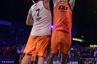 #6 Kavgic Adin, Team Trbovlje, FIBA 3x3 World Tour Lausanne 2014, Day 2, 30. August.