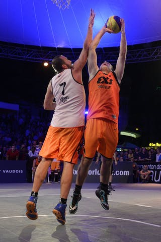 #6 Kavgic Adin, Team Trbovlje, FIBA 3x3 World Tour Lausanne 2014, Day 2, 30. August.