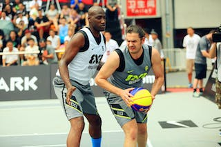 #6 Arnaout Alaa El Din, Team Beirut, 2014 World Tour Beijing, 3x3game, 03 August, Day 2.