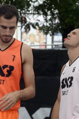 #7 Vitali Toni, Team Split, FIBA 3x3 World Tour Lausanne 2014, 29-30 August.
