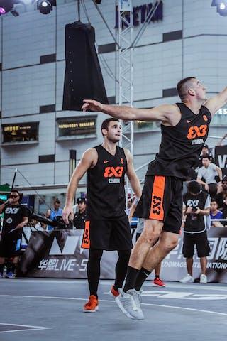 7 Jinbo Wang (CHN) - 4 Lazar Rasic (SRB) - 3 Bogdan Dragovic (SRB) - 4 Zhang Ziyi (CHN)
