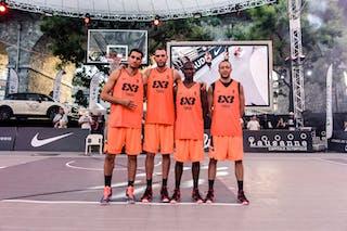 Team Tunis. Bilel MSAKNI (Tunisia); Faker BOUZOU (Tunisia); Aymen BOUZID (Tunisia); Mohamed Ahmed TRIMECH (Tunisia), 2015 WT Lausanne, Pool, 28 August 2015