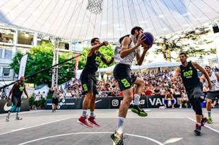 3 Stefan Stojačić (SRB) - 5 Damiano Verri (ITA) - 6 Claudio Negri (ITA) - 2 Gionata Zampolli (ITA) - 6 Stefan Kojic (SRB) - Liman v Pavia, 2016 WT Lausanne, Last 8, 27 August 2016
