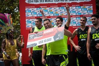 Fabio Santos, Team Sao Paulo, FIBA 3x3 World Tour Rio de Janeiro 2014, Day 2, 28. September.