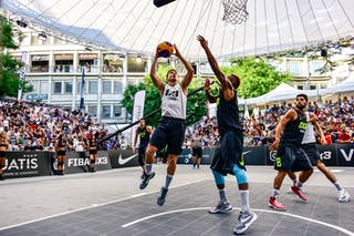 5 Aleksandar Ratkov (SRB) - 2 Gionata Zampolli (ITA) - 6 Claudio Negri (ITA) - Liman v Pavia, 2016 WT Lausanne, Last 8, 27 August 2016