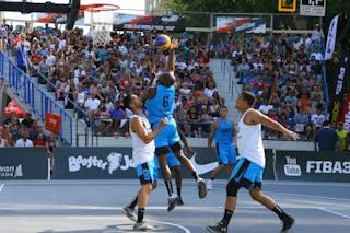 3 Daniel Mavraides (USA) - 6 Zahir Carrington (USA) - 6 Marcelão Silva (BRA) - 4 Pietro De Andrade (BRA)