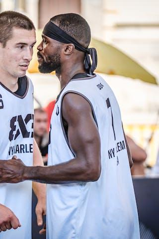 7 Marcel Esonwune (USA) - 6 Joey King (USA)