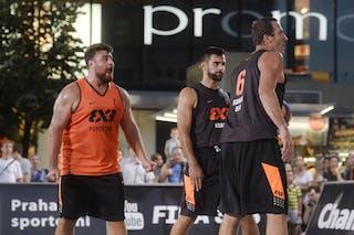 Psychiko v Kranj, 2015 WT Prague, Pool, 8 August 2015