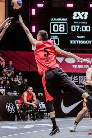 7 Guangwen Jiang (CHN) - 6 Xibao Zhang (CHN) - 5 Tsenguunbayar Gotov (MGL)