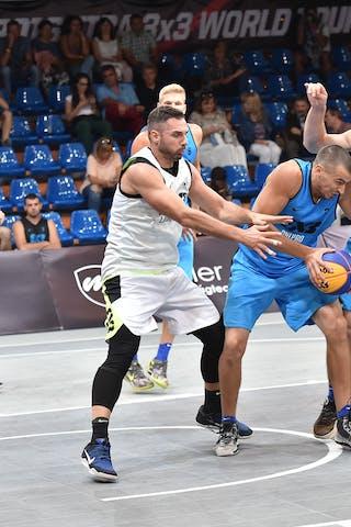 4 Jasmin Hercegovac (SLO) - 4 Andrii Kobets (UKR) - 3 Maxym Vorobiov (UKR) - Ljubljana v Dnipro, 2016 WT Debrecen, Pool, 7 September 2016