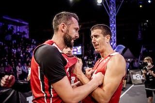 4 Dejan Majstorovic (SRB) - 3 Marko Brankovic (SRB)