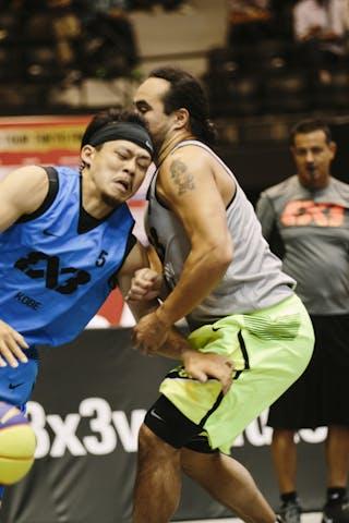 #5 Tomohisa Miyajima, Team Kobe, FIBA 3x3 World Tour Final Tokyo 2014, 11-12 October.