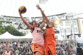 #6 Bassani Andrea, Team Lecco, FIBA 3x3 World Tour Lausanne 2014, Day 1, 29. August.