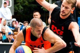 #4 Jan Stehlík. Team Ostrava. 2014 World Tour Prague. 3x3 Game. 24 August. Day 2.