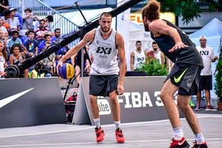 6 Nikola Vujovic (SLO) - 6 Maxime Courby (FRA) - Maribor v Paris, 2016 WT Lausanne, Pool, 26 August 2016