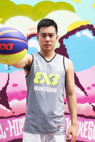 #3 Zhao Ning, Team Wukesong, FIFA 3x3 World Tour Beijing 2014, 2-3 August.