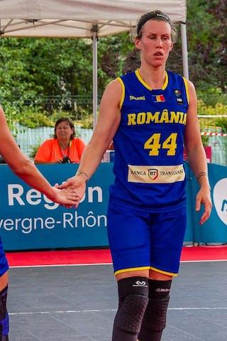 44 Gabriela Marginean (ROU) - 17 Alexandra Uiuiu (ROU)