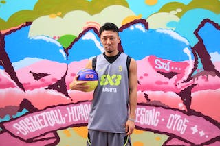 #5 Suzuki Keita, Team Nagoya, FIBA 3x3 World Tour Beijing 2014, 2-3 August.