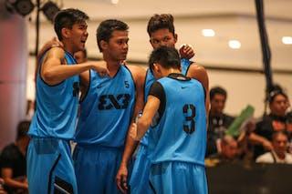 Team Manila South, 2014 World Tour Manila, 3x3game, 20. July.