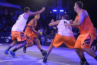 #4 Bjelica Dragan, Team Belgrade, FIBA 3x3 World Tour Lausanne 2014, Day 1, 29. August.