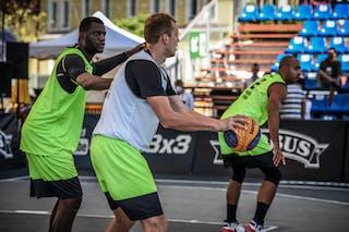 2 Raphael Wilson (FRA) - 5 Aurelijus Pukelis (LTU) - 5 Hervé Tiecoura Touré (FRA)