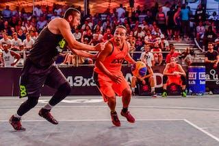 3 Michael Linklater (CAN) - Saskatoon v Maribor, 2016 WT Lausanne, Pool, 26 August 2016