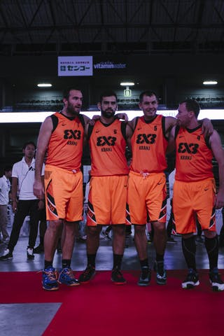 Team Kranj, FIBA 3x3 World Tour Final Tokyo 2014, 11-12 October.