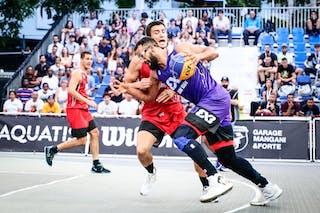 5 Stefan Stojacic (SRB) - 4 Gilberto Clavell (PUR)