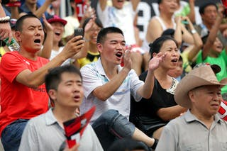 Fans, FIBA 3x3 World Tour Beijing 2014, 2-3 August.