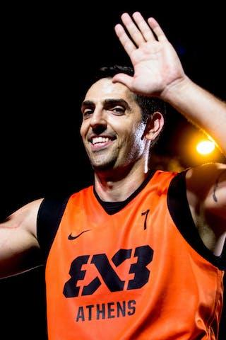 #7 Stefanos Solomos. Team Athens. 2014 World Tour Prague. 3x3 Game. 23 August. Day 1.