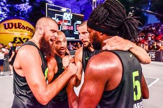 6 Maxime Courby (FRA) - 5 Dominique Gentil (FRA) - 4 Charles Bronchard (FRA) - 3 Anthony Christophe (FRA) - Liman v Paris, 2016 WT Lausanne, Semi final, 27 August 2016