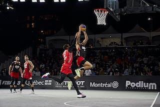 FIBA 3x3, World Tour 2021, Mtl, Can, Esplanade Place des Arts. Final Amsterdam vs Ub