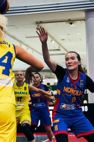 8 Chimeddolgor Enkhtaivan (MGL) - 24 Ancuţa Stoenescu (ROU) - Game4_Pool A_Romania vs Mongolia