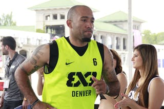 #6 Corey Campbell, Denver Team, 2014 World Tour Chicago, 3x3 game, 16 August, Day 2.