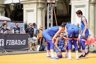 9 Giulia Ciavarella (ITA) - 8 Giulia Rulli (ITA) - 2 Raelin Marie D'alie (ITA) - 5 Marcella Filippi (ITA)