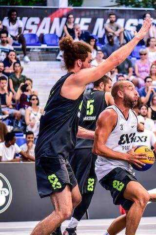 6 Nikola Vujovic (SLO) - 6 Maxime Courby (FRA) - 3 Anthony Christophe (FRA) - 5 Strahinja Mladenovic (SLO) - Maribor v Paris, 2016 WT Lausanne, Pool, 26 August 2016